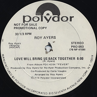 Roy Ayers / Love Will Bring Us Back Together