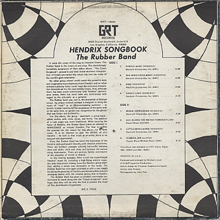 Rubber Band / Hendrix Songbook back