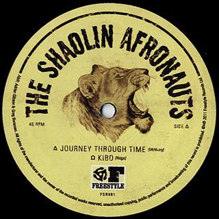 Shaolin Afronauts Journey Through Time 12inch