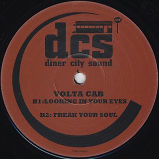 Volta Cab / Dinner City Sounds 2 EP back