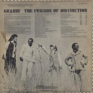 Friends Of Distinction / Grazin' back