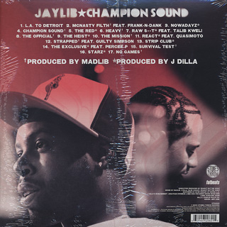 Jaylib / Champion Sound back