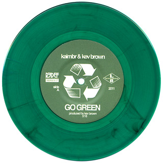 Kaimbr & Kev Brown / The Alexander Green Project label