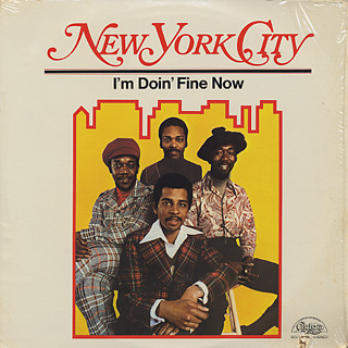 New York City / I'm Doin' Fine Now front
