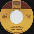 Stevie Wonder / Hey Love c/w Travelin Man