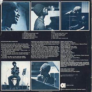 Beres Hammond / Soul Reggae back