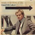 David McCallum / Music: A Bit More Of Me