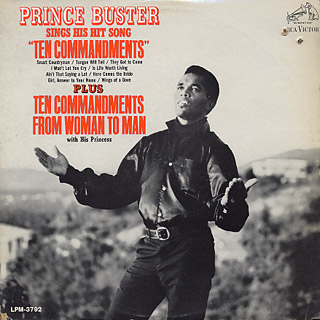Prince Buster / Sings His Hit Song ''Ten Commandments''