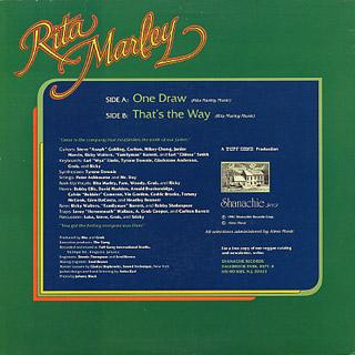 Rita Marley / One Draw back