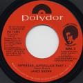 James Brown / Superbad, Superslick Part I c/w Part II