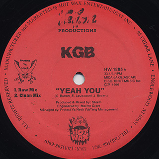 KGB / Yeah You
