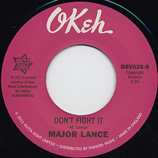 Major Lance / You Don't Want Me No More c/w Don't Fight It back