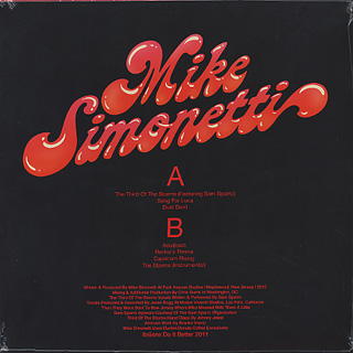 Mike Simonetti / Capricorn Rising back