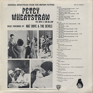 O.S.T.(Nat Dave and The Devils) / Petey Wheatstraw back