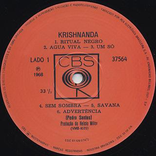 Pedro Santos / Krishnanda label