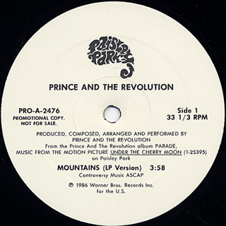 Prince and The Revolution / Mountains