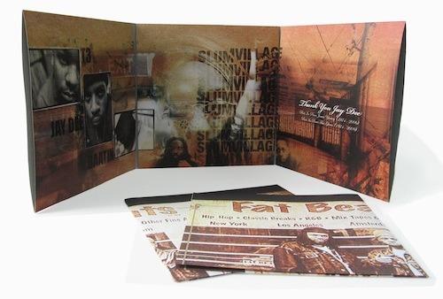 Slum Village / Fantastic Vol. 2 Instrumentals (3LP + Poster) label