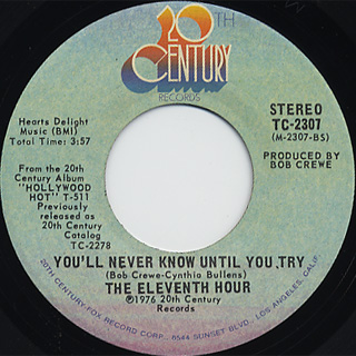 Eleventh Hour / Hollywood Hot (New Version) back