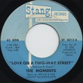 Moments / Love On A Two-Way Street c/w I Won't Do Anything