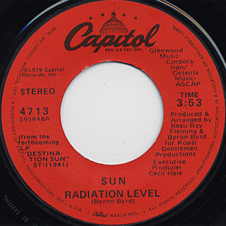 Sun / Radiation Level