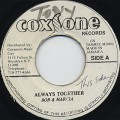 Bob & Marcia / Always Together c/w Heptones / Young Generation