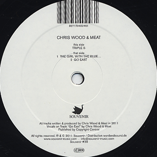 Chris Wood & Meat / Color Of Love, Fantasy