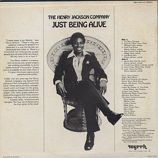 Henry Jackson Company / Just Being Alive back