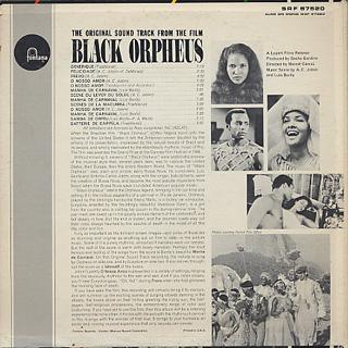 O.S.T. (Antonio Carlos Jobim) / Black Orpheus back