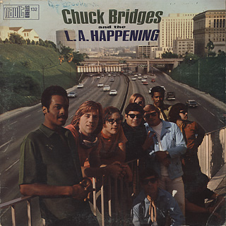 Chuck Bridges and The L.A. Happening / S.T. front