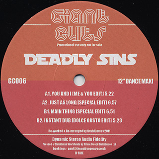 Deadly Sins / Giant Cuts Vol.6