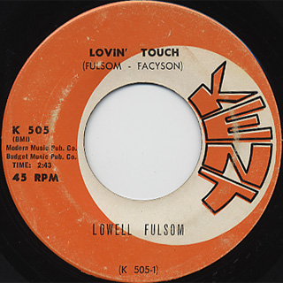 Lowell Fusion / Lovin Touch