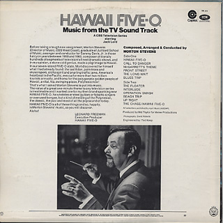 O.S.T.(Mort Stevens) / Hawaii Five-O back