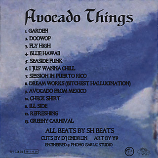 SH Beats / Avocado Things back