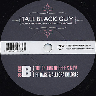 Tall Black Guy Productions / The Return Of Here & Now back