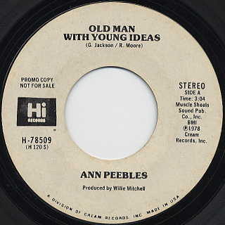 Ann Peebles / Old Man With Young Ideas