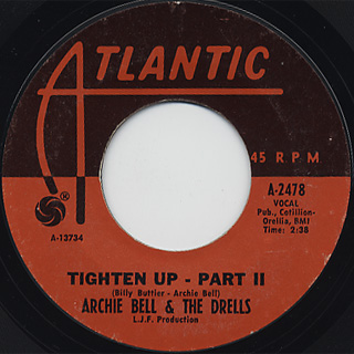 Archie Bell & The Drells / Tighten Up back