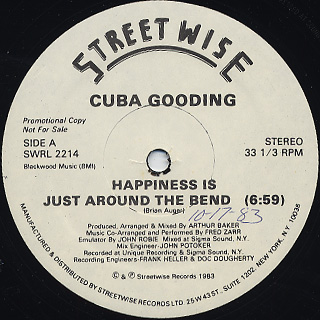 Cuba Gooding / Happiness Is Just Around The Bend