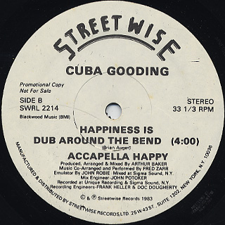 Cuba Gooding / Happiness Is Just Around The Bend back