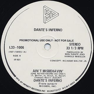 Dante's Inferno / Ain't Misbehavin'