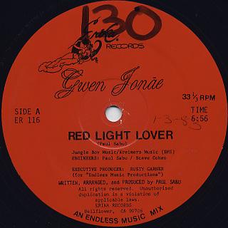 Gwen Jonae / Red Light Lover