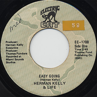 Herman Kelly Amp Life Easy Going C W Dance To The Drummer