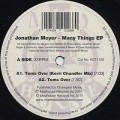 Jonathan Meyer / Many Things EP
