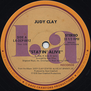 Judy Clay / Stayin' Alive