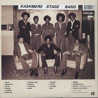 Kashmere Stage Band / Texas Thunder Soul 1968-1974 (3LP+DVD) back