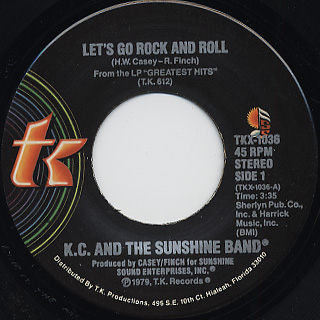 KC & The Sunshine Band / I've Got The Feeling back