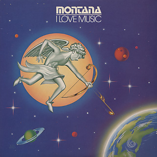 Montana / I Love Music front