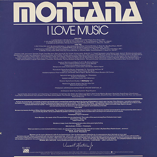 Montana / I Love Music back