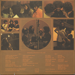 Supremes / Produced And Arranged By Jimmy Webb back