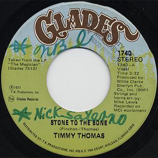 Timmy Thomas / Stone To The Bone
