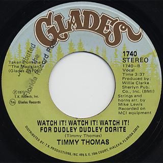 Timmy Thomas / Stone To The Bone back